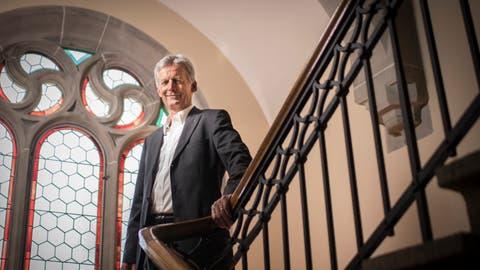 Seit 33 Jahren im Amt: Alex Frei kandidiert am 9. Februar wieder als Gerichtspräsident des Bezirksgerichts Münchwilen. ((Bild: Benjamin Manser))
