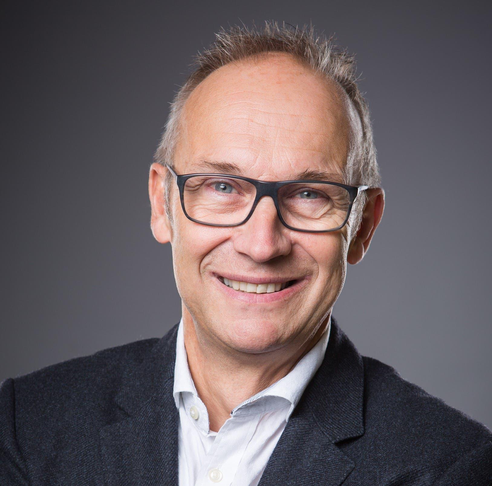 Kandidiert ebenso als «Stapi»: Bruno Rosset (60), ist selbstständiger Unternehmensberater.