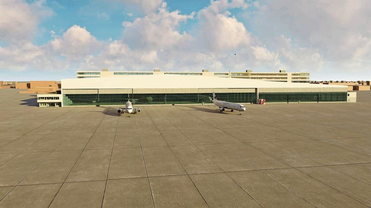 Der Flughafen plant Grosses für grosse Geschäftsflieger