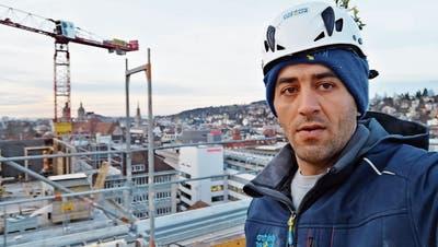 Wenn das System funktioniert: Sozialhilfebezüger Ali Alossaus Wil ist auf dem Weg, den Sprung in die Unabhängigkeit zu schaffen