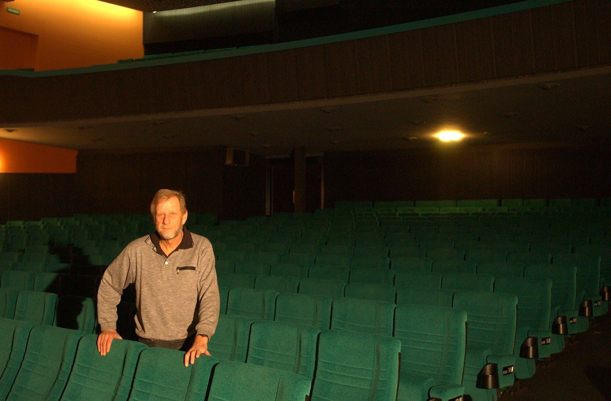 Urs Herdener musste sein Kino ABC 2001 schliessen.