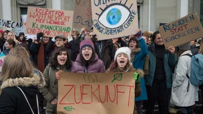 Wo alles begann: Am 18. Januar fasste die Klimabewegung in Luzern Fuss. (Boris Bürgisser)