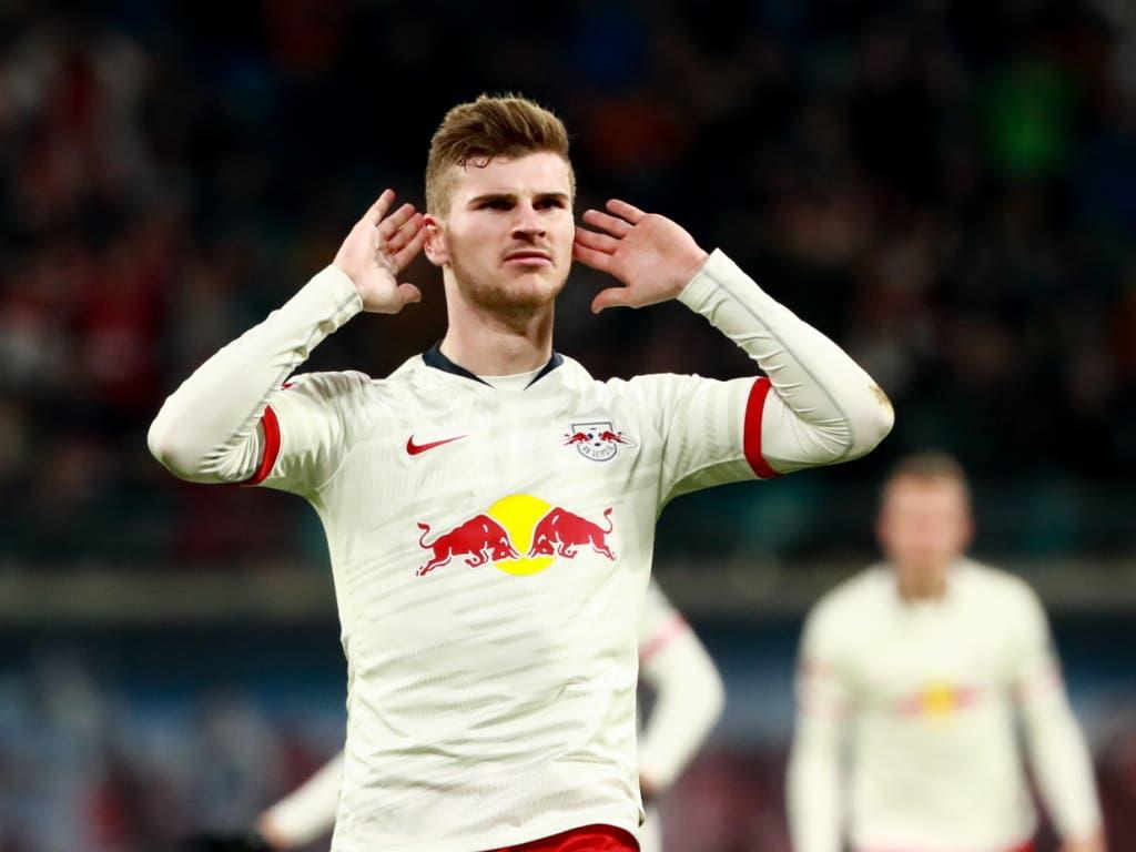 Auch Leipzigs Topskorer Timo Werner sorgte für eine spektakuläre Wende