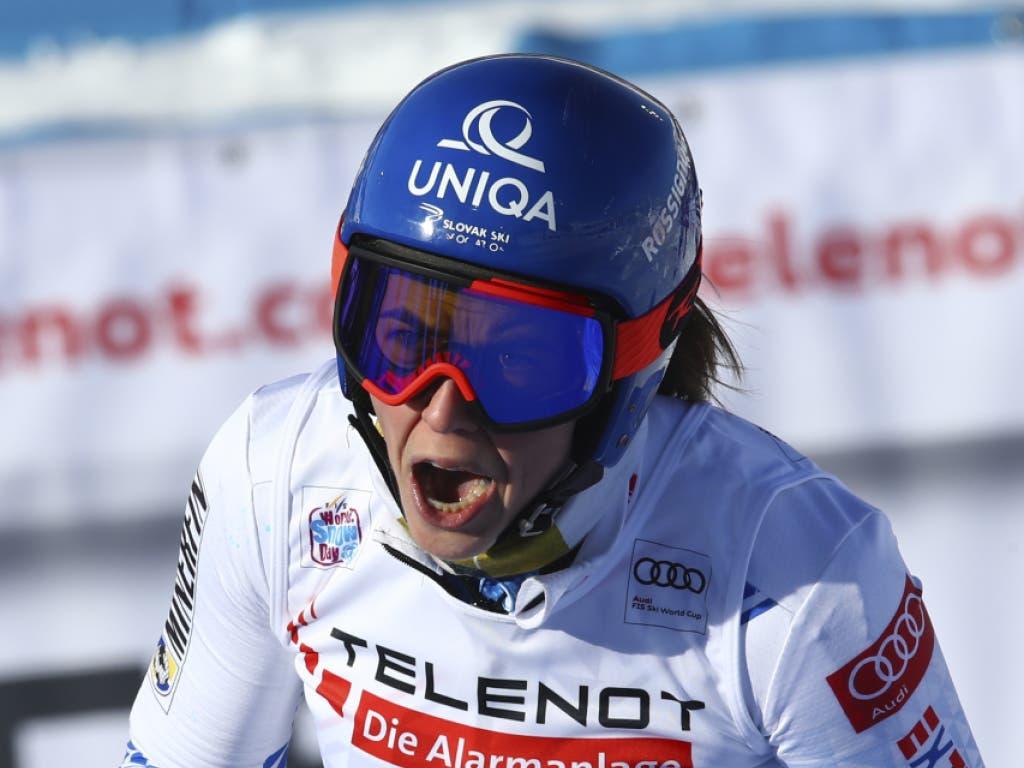 Petra Vlhova jubelt auch in Sestriere - diesmal gemeinsam mit Federica Brignone