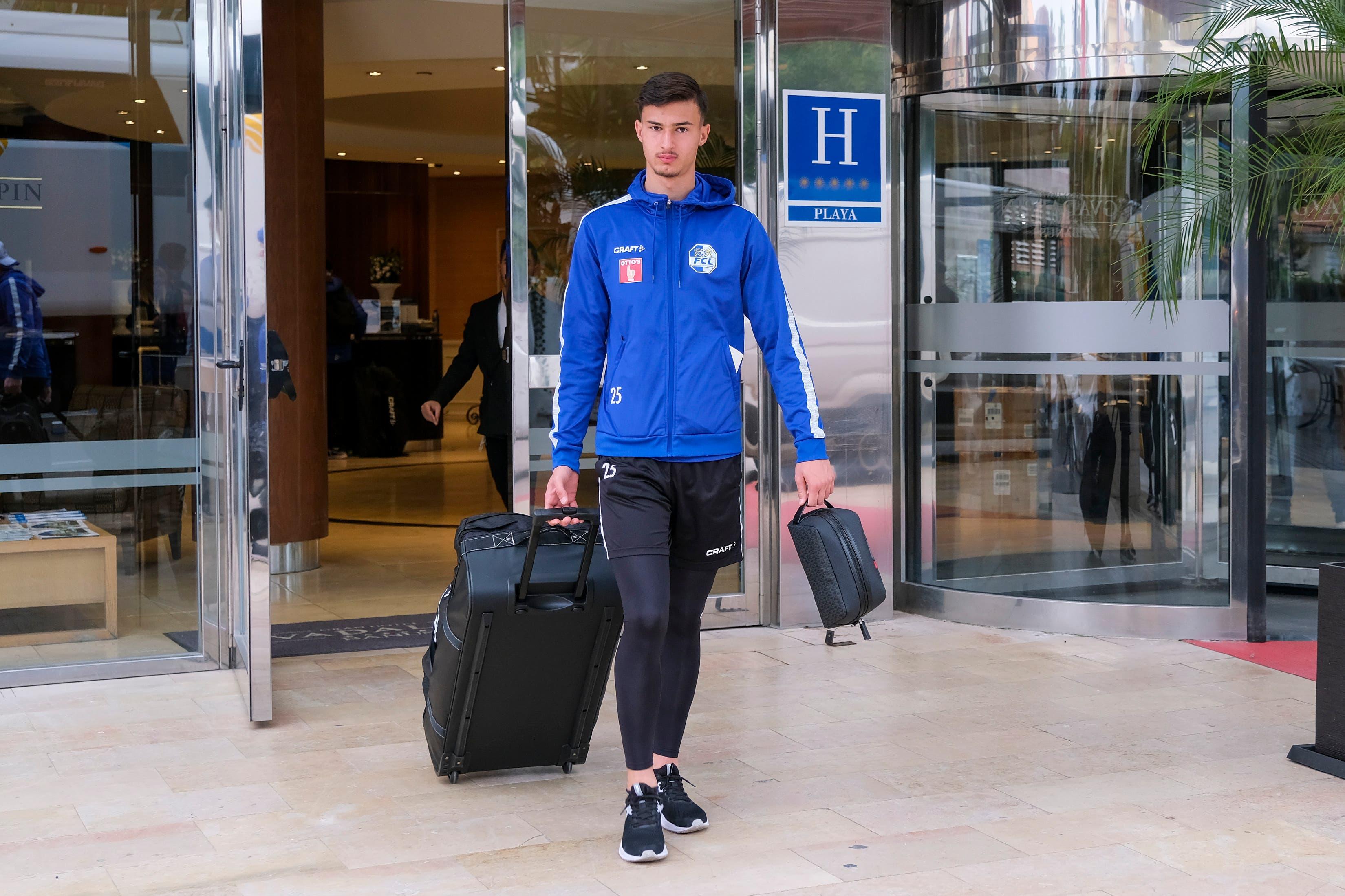 Am Samstag ging das Trainingslager des FCL in Marbella zu Ende. Der Klub (im Bild David Mistrafovic) macht sich auf den Weg zurück in die Schweiz.