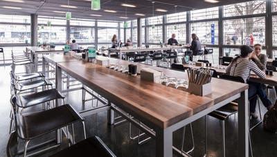 Blick ins World Café, wie es aktuell noch aussieht. ((Bild: PD))