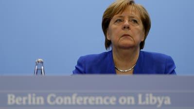 Hat am Sonntag am Libyen-Gipfel in Berlin einen Teilerfolg erzielt: Bundeskanzlerin Angela Merkel (Bild: Keystone)
