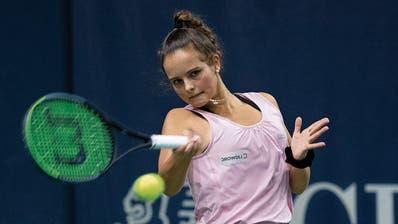 Alina Granwehr ist im Alter von 16 Jahren bereits die Weltnummer 226 der Juniorinnen. (Claudio de Capitani,Freshfocus)