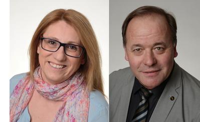 Stellen sich für eine Kandidatur in den Emmer Gemeinderat zur Verfügung: Ibolyka Lütolf und Maximilian Holzer. (Bilder: PD)