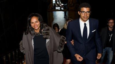 Isabel dos Santos und ihr Mann Sindika Dokolo sollen in einen Korruptionsskandal verwickelt sein. (Bild: AP)