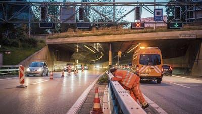 Die St.Galler Stadtautobahn wird 2021 zur Grossbaustelle – wegen des drohenden Kollapses fordern Politiker: «Wir müssen den Verkehr um 10 bis 20 Prozent reduzieren»