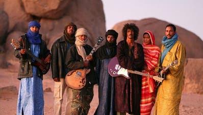Tinariwen bieten authentischen Tuareg-Sound. (Bild: PD)
