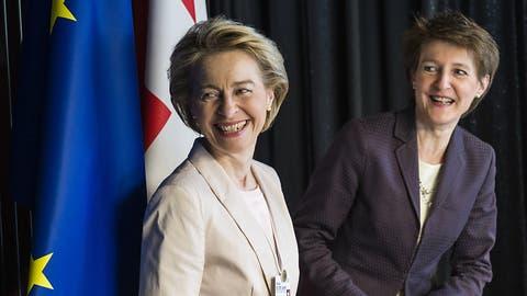 Sommaruga spürt bei EU «Interesse an Lösungen» für Rahmenabkommen