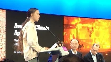 Greta kritisiert WEF-Elite fürs Nichtstun ++ Donald Trump lobt sich selbst ++ Protestaktion im Saal gestoppt