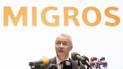 Fabrice Zumbrunnen, Präsident der Generaldirektion des Migros-Genossenschafts-Bundes, hat an der Affäre Piller keine Freude. (Ennio Leanza, KEYSTONE)