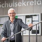 Der amtierende Schulpräsident Urs Blaser tritt Ende Jahr zurück. (Bild: Ralph Ribi (30. August 2019))