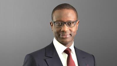 Nimmt er die Einladung zur Fernsehdebatte an? Tidjane Thiam wird von Klima-Aktivisten zum Gespräch aufgefordert. (HO)