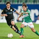 Alberto Regazzoni absolvierte zwischen 2011 und 2013 insgesamt 57 Spiele für den FC St.Gallen. (Bild: Urs Jaudas (31. März 2012))