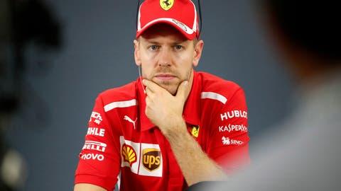Sebastian Vettel ist Formel-1-Fahrer beim Rennstall Ferrari. (Bild: Franck Robichon / EPA)