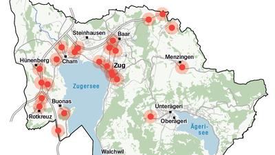 5G-Netz im Kanton Zug wird ausgeweitet – so soll es aussehen