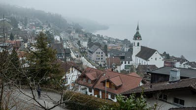 Auch die Ansicht von Walchwil verändert sich durch die rege Bautätigkeit laufend. (Bild: Stefan Kaiser (24. Januar 2020))