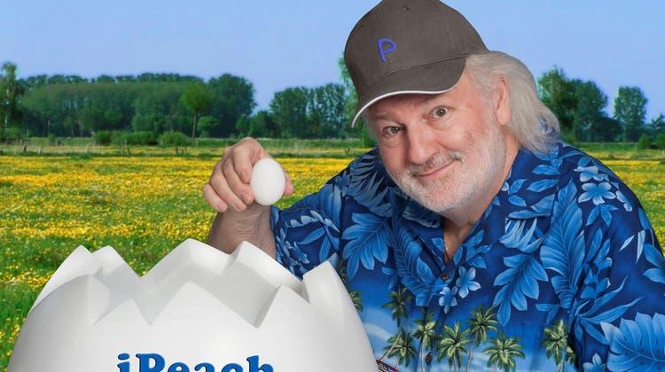 Peach Weber.Der Komiker steht steht seit 40 Jahren auf der Bühne. Auf den 15. Oktober 2027 ist seine Abschiedsvorstellung im Hallenstadion Zürich terminiert.