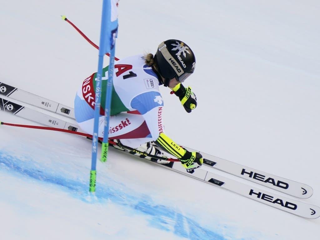 Lara Gut-Behrami unterwegs zu ihrem besten Saison-Ergebnis