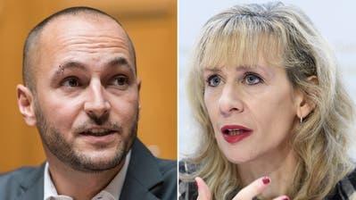 Die Zürcher SP-Nationalrätin Priska Seiler Grad kandidiert als Co-Präsidentin. (Alessandro Della Valle / KEYSTONE)