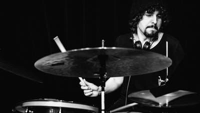 Samir Böhringer am Schlagzeug ((Bild: PD))