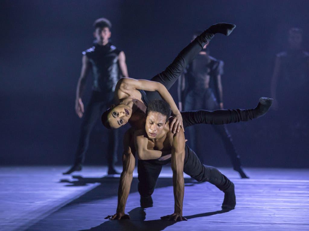 Das Tanzstück «Coal, Ashes and Light» von Tanzchef Kinsun Chan feierte am Samstag Premiere im Grossen Haus des Theater St. Gallen.