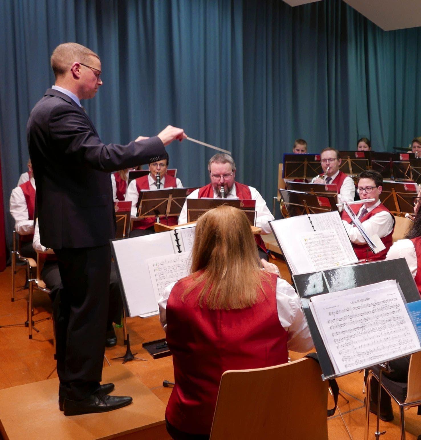 Dirigent Remo Gisler ist stolz auf die Leistung des Korps.
