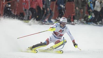 Daniel Yule bricht den Schweizer Siegbann im Slalom von Kitzbühel