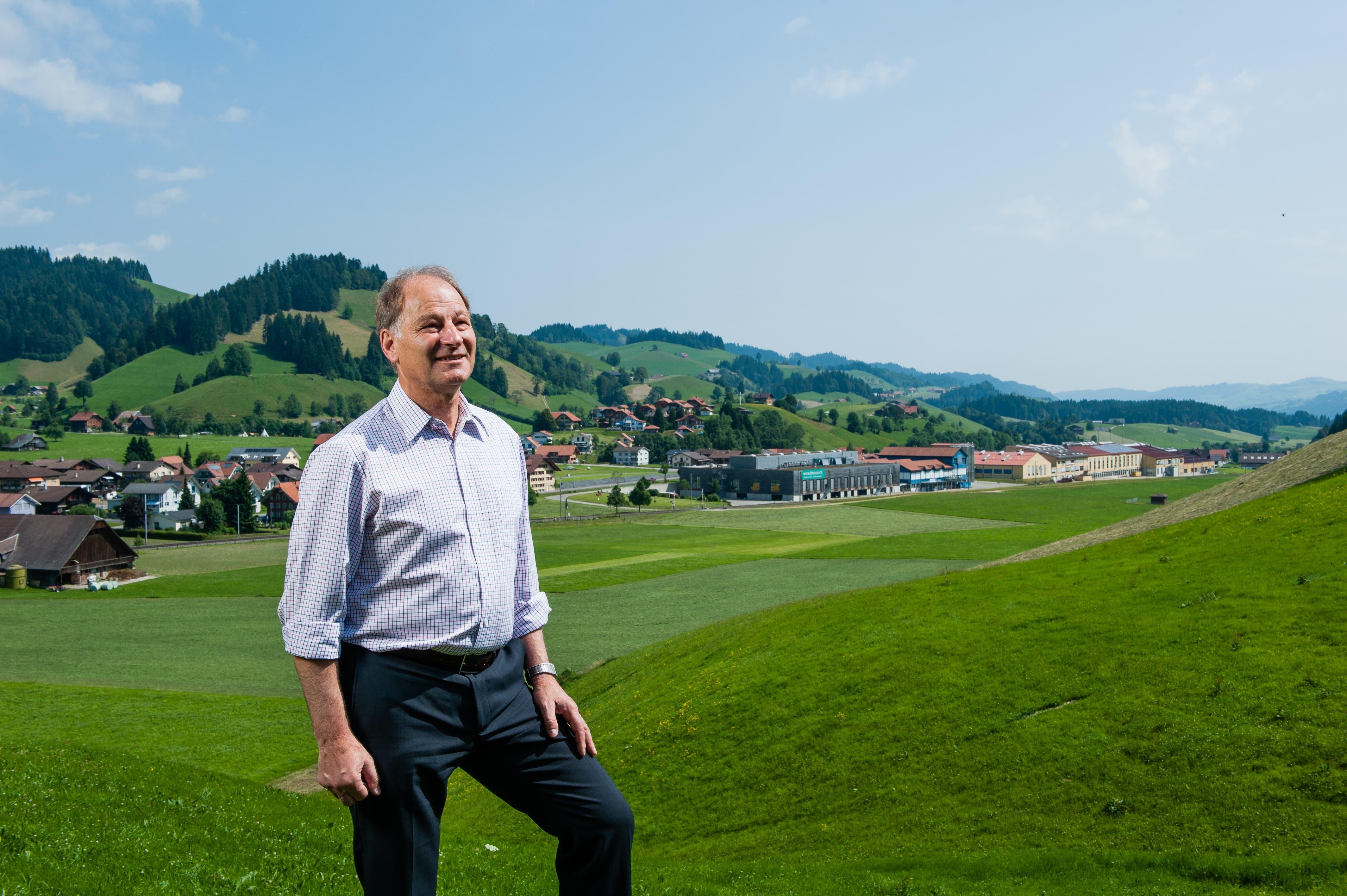 2013: Fritz Lötscher ist Gemeindepräsident von Escholzmatt-Marbach.