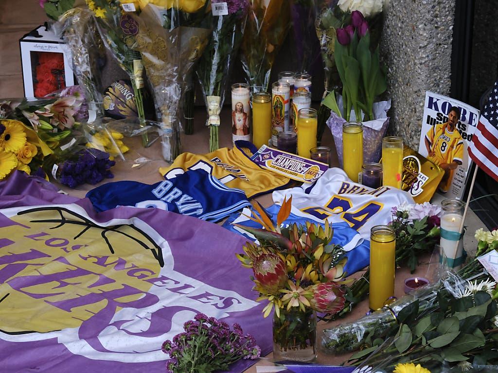 Grosse Anteilnahme zum überraschenden Tod von Kobe Bryant.