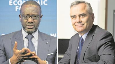 Wehrt sich gegen Kritik: Credit-Suisse-Chef Tidjane Thiam (Bild: Keystone)
