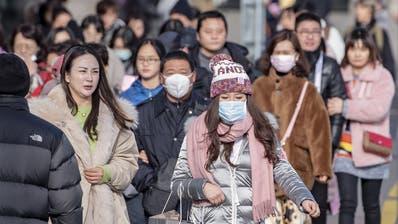 Chinesische Gästegruppen wird man in Luzern wohl bald seltener zu Gesicht bekommen. (Bild: Urs Flüeler / Keystone (Luzern, 24. Januar 2020))