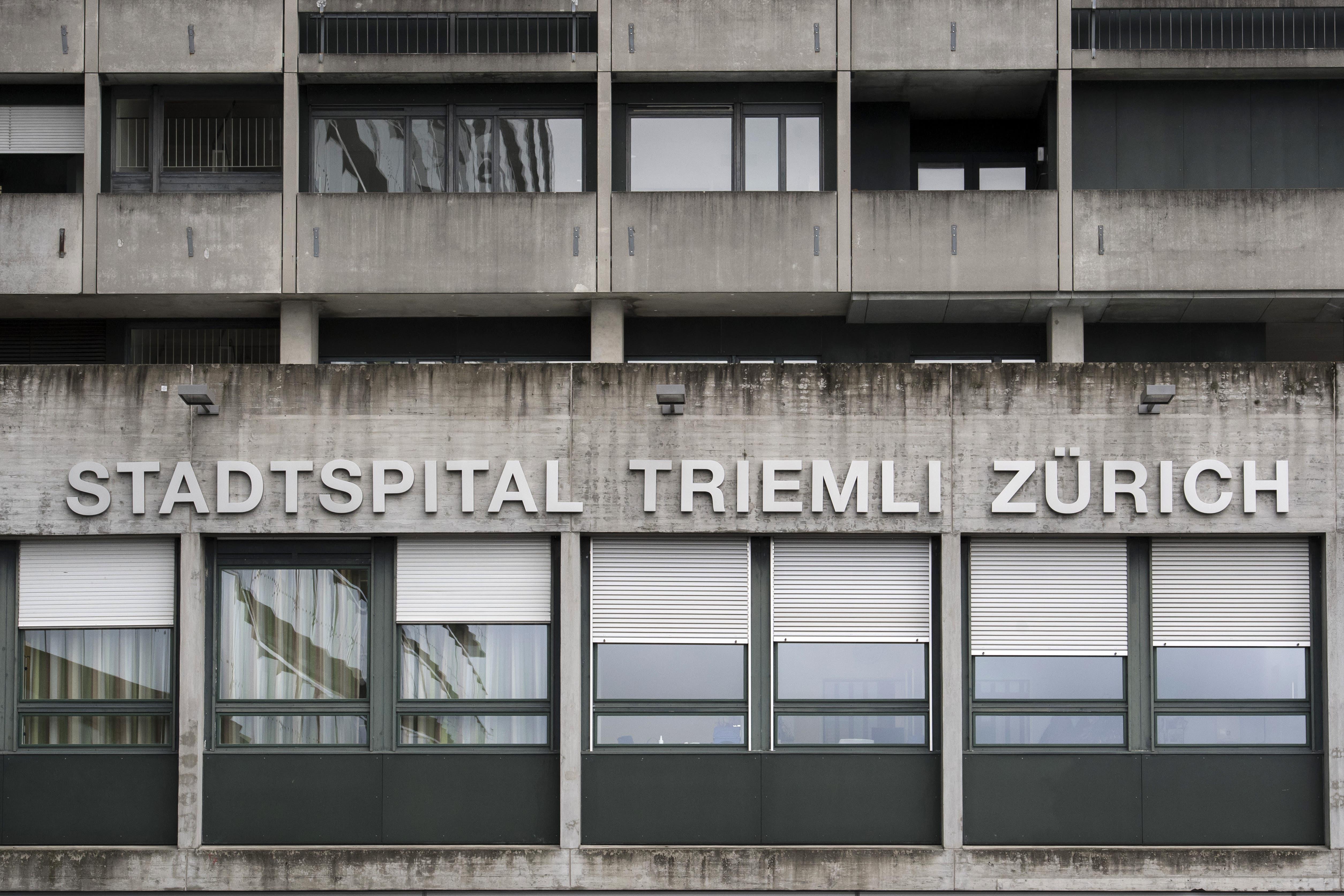 Im Zürcher Stadtspital Triemli werden zwei Verdachtsfälle behandelt.