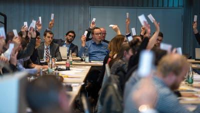 Der Einwohnerrat Emmen – hier bei der Sitzung vom 19. November 2019 – wird am 29. März neu gewählt. (Dominik Wunderli)