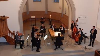 Besucher haben in der Sennwalder Kirche ein musikalisches Feuerwerk genossen