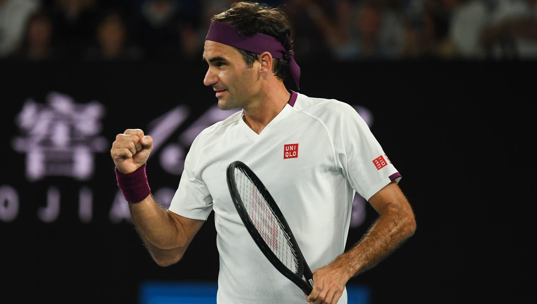 Roger Federer steht in den Halbfinals der Australian Open. (Bild: Keystone)