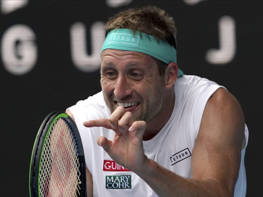 Tennys Sandgren stand zum zweiten Mal am Australian Open in den Viertelfinals