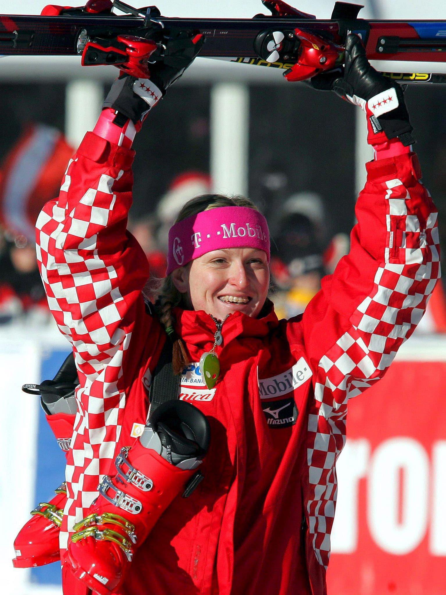 Janica Kostelic: Die vierfache Olympiasiegerin entfachte mit ihren Erfolgen eine Ski-Euphorie in Kroatien. Ihr zu Ehren wird auch heute noch der Titel «Schneekönigin» von Zagreb vergeben. Selber hat die Kroatin den Slalom an ihrem Hausberg aber nie gewonnen.