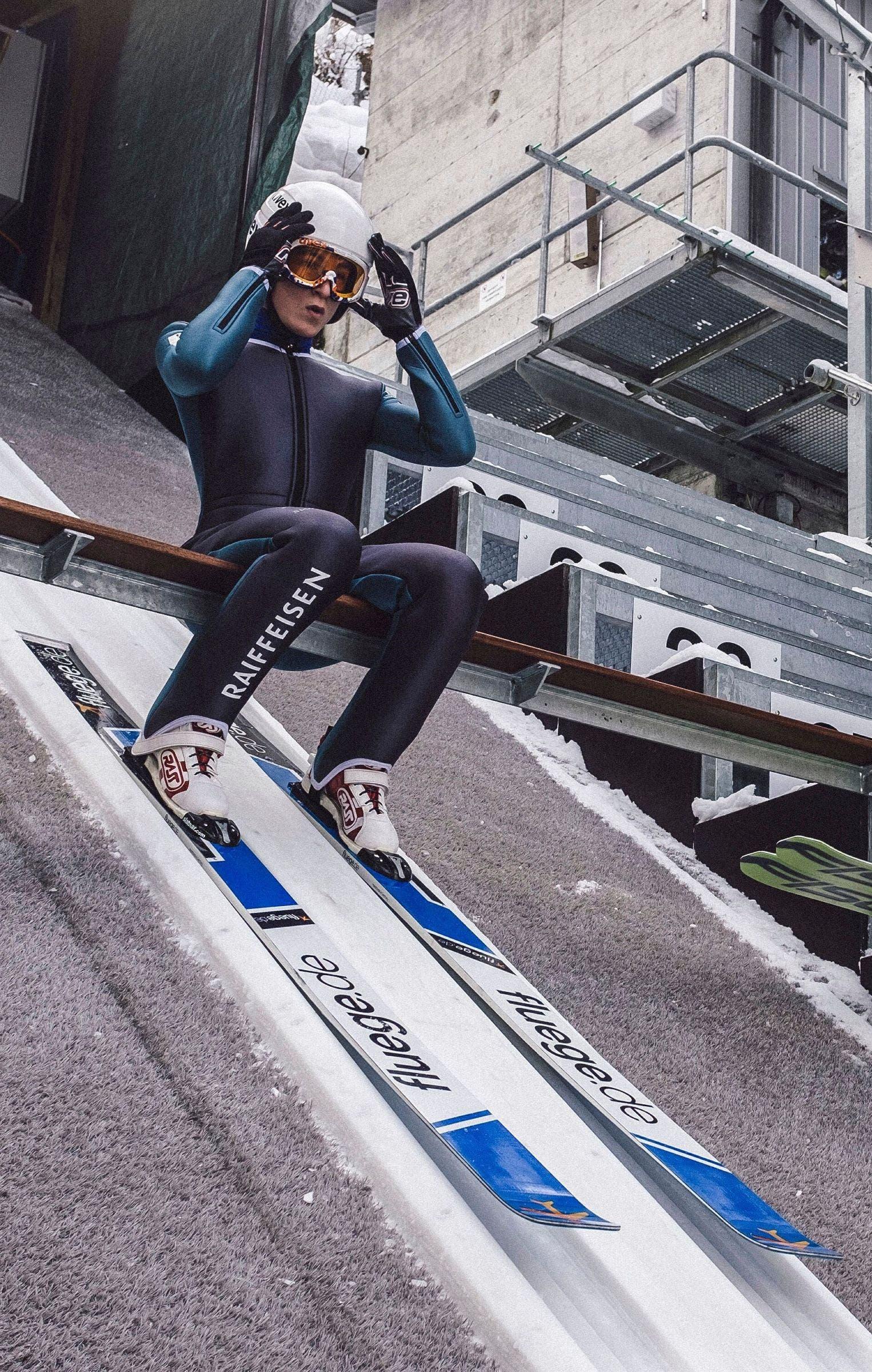 Sie nehmen mit anderen an den Olympischen Jugendspielen 2020 teil: Skispringer Lean Niederberger...