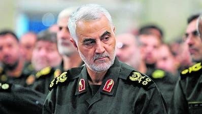 Irans Top-Agent Qassem Soleimani wurde am Freitag getötet. (Getty Images)
