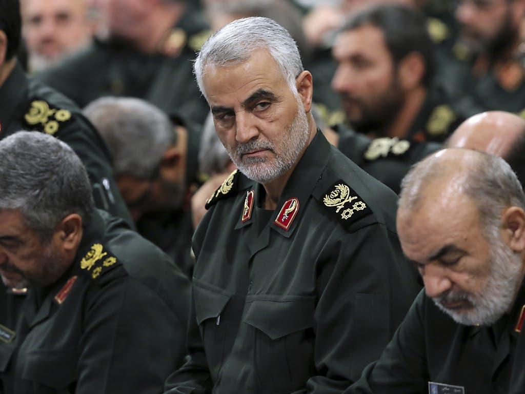 Der iranische General Ghassem Soleimani ist durch einen gezielten US-Angriff getötet worden.