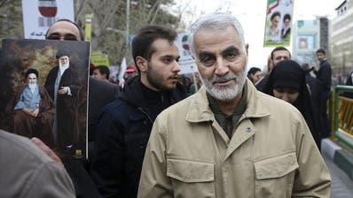 Ghassem Soleimani wurde bei einem US-Raketenangriff getötet. (EPA)