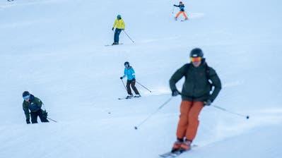 Viele Suchten über den Jahreswechsel die Sonne: Ostschweizer Skigebiete wurden überrant. ((Bild: Benjamin Manser))