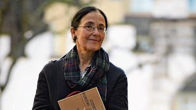 Marion Graf, preisgekrönte Übersetzerin. Schaffhausen. (16.1.2020) (Bild: Michael Kessler)
