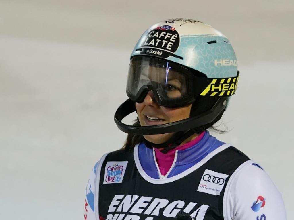 Nach zwei Ausfällen kam Wendy Holdener mal wieder ins Ziel, verpasste das Podest als Vierte aber knapp