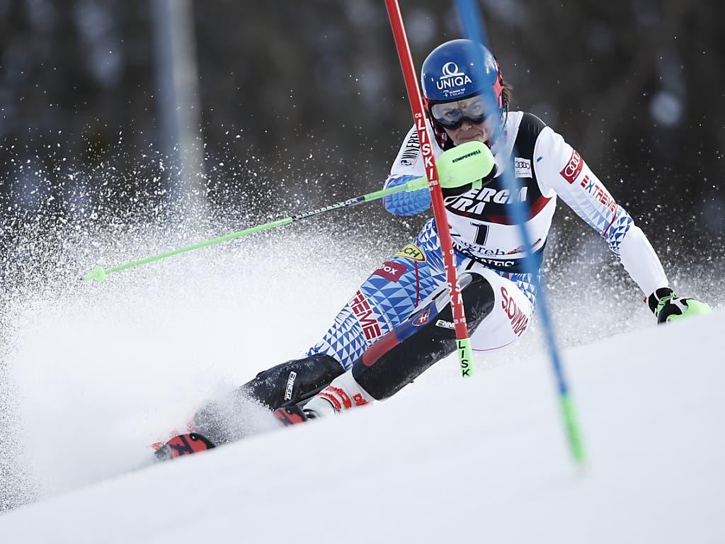 Petra Vlhova fährt in Zagreb überlegen zum Slalom-Sieg